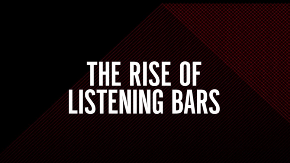 Resident Advisor-The Rise of listening Bars : Barcelona